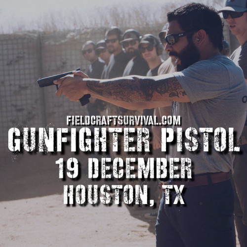 Gun Fighter Pistol Course Level 1, 19 December 2020 (Houston, TX)