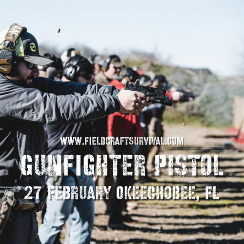 Gun Fighter Pistol Course Level 1: 27 February 2021 (Okeechobee, FL)