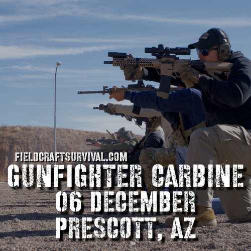 Gun Fighter Carbine Course Level 1, 6 December 2020 (Prescott, AZ)