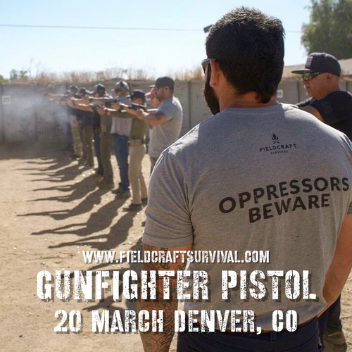 Fieldcraft Survival Gun Fighter Pistol