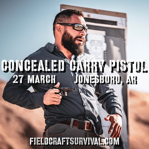 concealed carry pistol ccp ccw fieldcraft survival