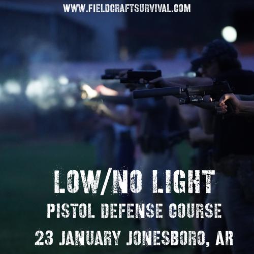 Fieldcraft Survival Lo/No Pistol Defense Course