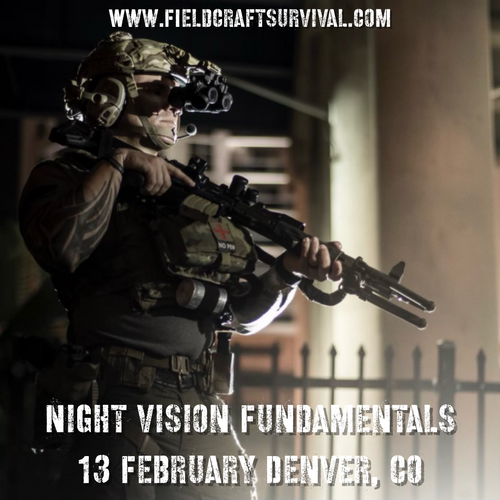 Fieldcraft Survival Night Vision Fundamentals Course