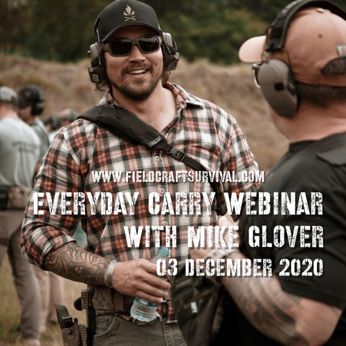 Every Day Carry Webinar with Mike Glover