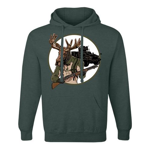 Moose Enforcer Unisex Hoodie