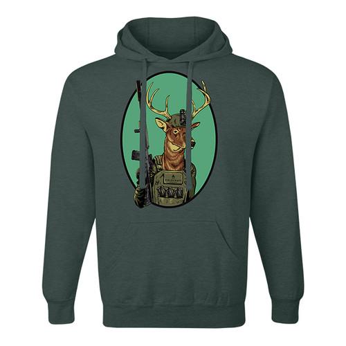 Assault Deer Unisex Hoodie