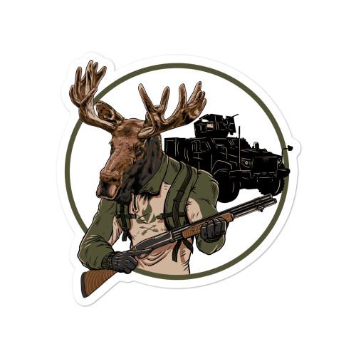 Moose Enforcer Sticker