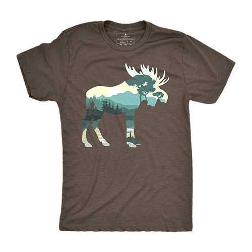 Moose By The Lake T-Shirt