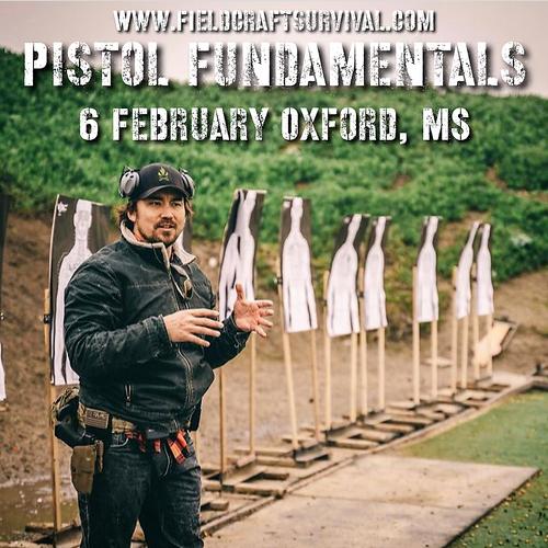 Fieldcraft Survival - Pistol Fundamentals