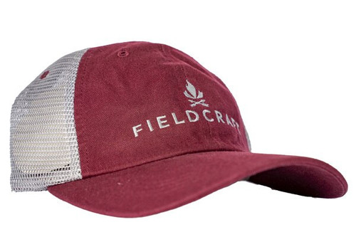 Fieldcraft Survival Pre-Washed Shooter Hat (Maroon)