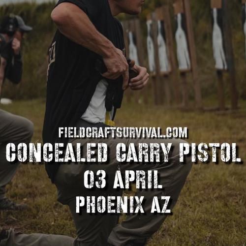 Concealed Carry Pistol - Fieldcraft Survival