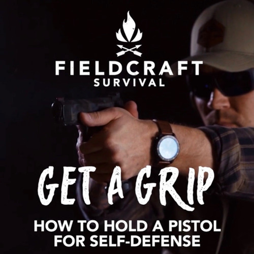 GunFighter Pistol Fundamentals: Grip Taught by Mike Glover - Digital Video