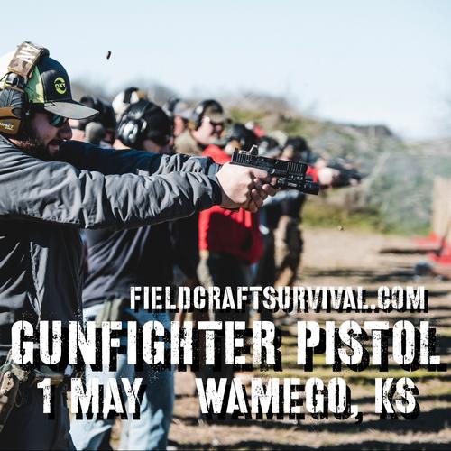 Gun Fighter Pistol Level 1: 1 May 2021 (Wamego, KS)