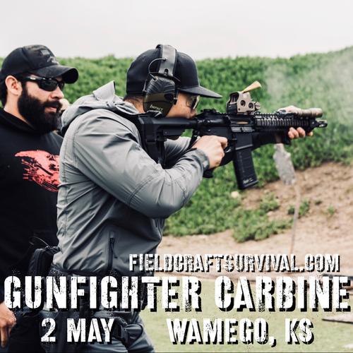 Gun Fighter Carbine Level 1: 2 May 2021 (Wamego, KS)