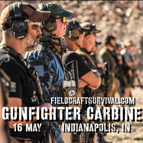 Gun Fighter Carbine Level 1: 16 May 2021 (Indianapolis, IN)