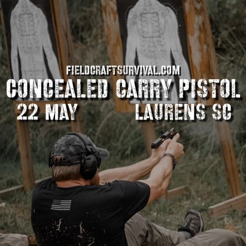 fieldcraft survival concealed carry pistol