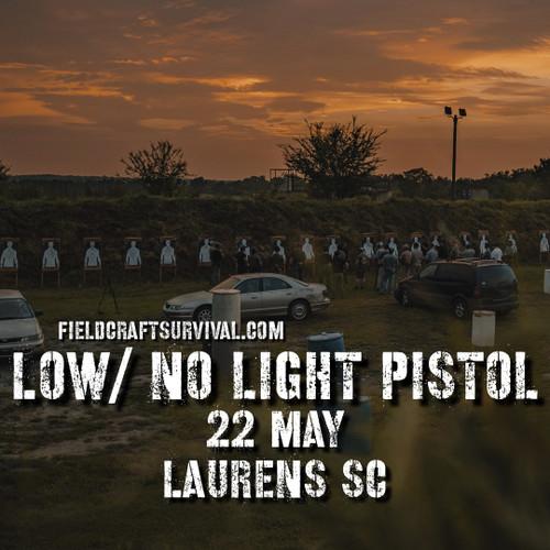 fieldcraft survival low light no light pistol