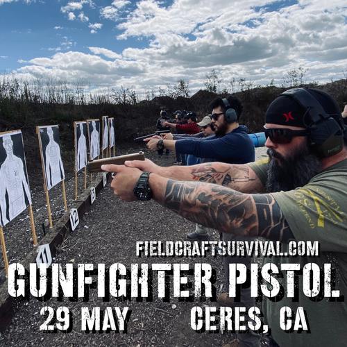 Gun Fighter Pistol Level 1: 29 May 2021 (Ceres, CA)