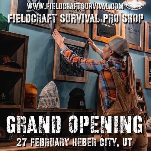 Fieldcraft Survival Pro Shop Grand Opening: 27 February 2021 (Heber City, UT)
