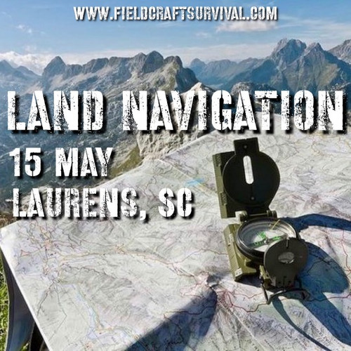 Land Navigation: 15 May 2021 (Laurens, SC)