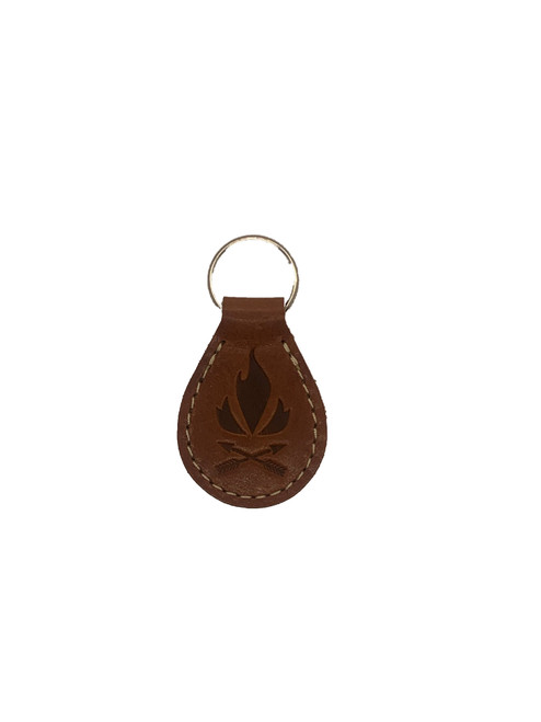 Fieldcraft Survival Leather Key Ring