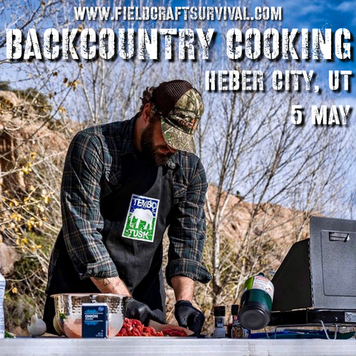 Backcountry Cooking: 5 May 2021 (Heber City, UT)