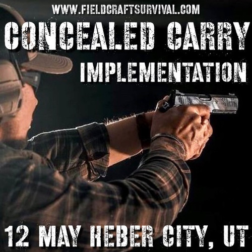 Concealed Carry Implementation: 12 May 2021 (Heber City, UT)