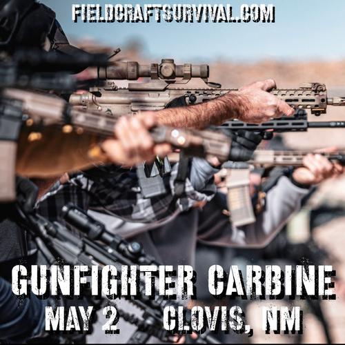 Gun Fighter Carbine Level 1: 2 May 2021 (Clovis, NM )