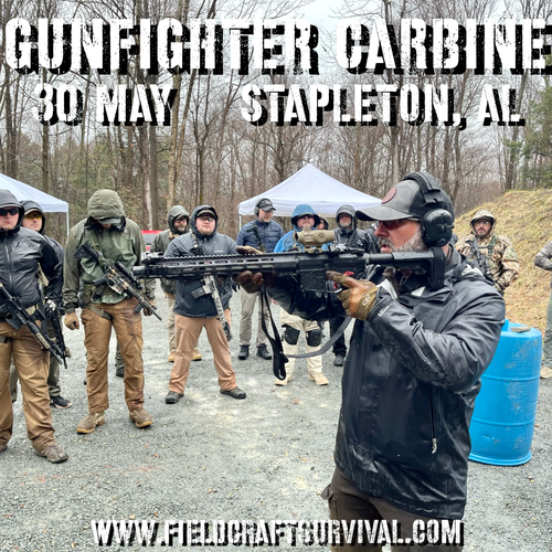 Gun Fighter Carbine Level 1: 30 May 2021 (Stapleton, AL)