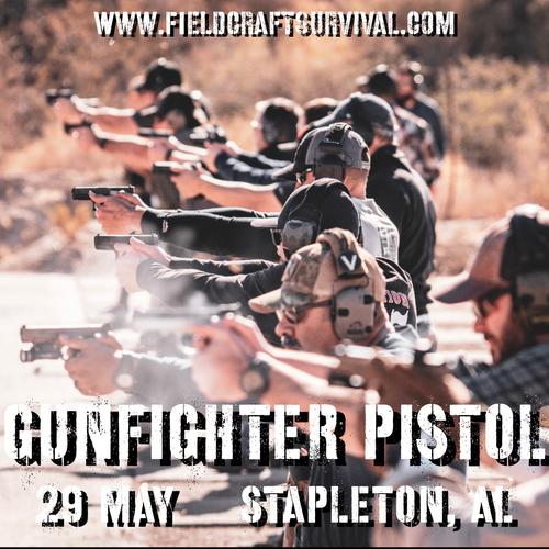 Gun Fighter Pistol Level 1: 29 May 2021 (Stapleton, AL)
