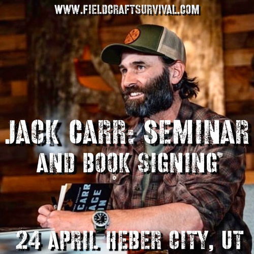 Fieldcraft Survival - Jack Carr Seminar and Book Signing