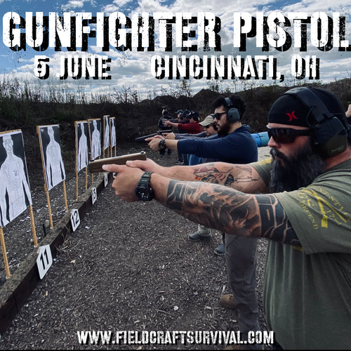 Gun Fighter Pistol Level 1: 5 June 2021 (Cincinnati, OH)