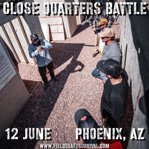 Close Quarters Battle Level 1: 13 June 2021 (Phoenix, AZ)