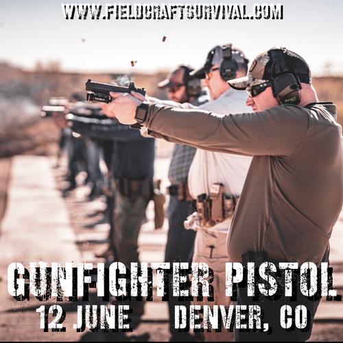 Gun Fighter Pistol Level 1: 12 June 2021 (Denver, CO)