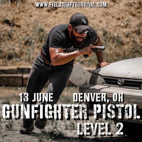 Gun Fighter Pistol Level 2: 13 June 2021 (Denver, CO)