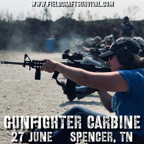 Gun Fighter Carbine Level 1: 27 June 2021 (Spencer, TN)