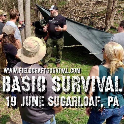 Basic Survival : 19 June 2021 (Sugarloaf, PA)
