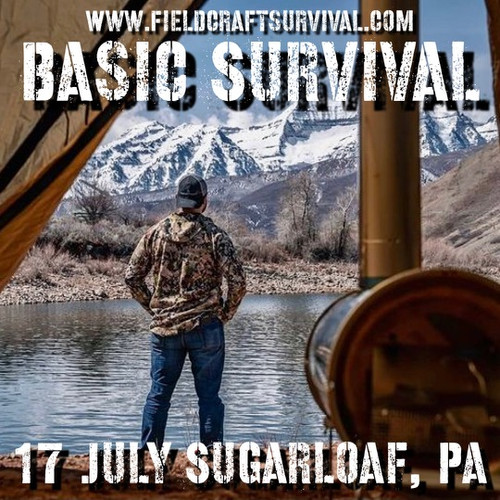Basic Survival : 17 July 2021 (Sugarloaf, PA)