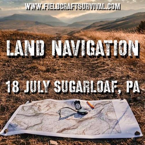Land Navigation: 18 July 2021 (Sugarloaf, PA)