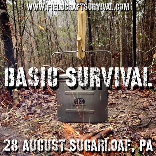 Basic Survival : 28 August 2021 (Sugarloaf, PA)