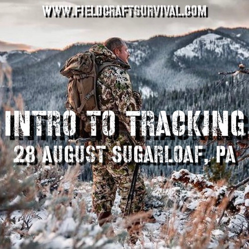 Intro to Tracking: 28 August 2021 (Sugarloaf, PA)