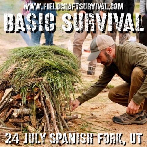 Basic Survival : 24 July 2021 (Spanish Fork, UT)