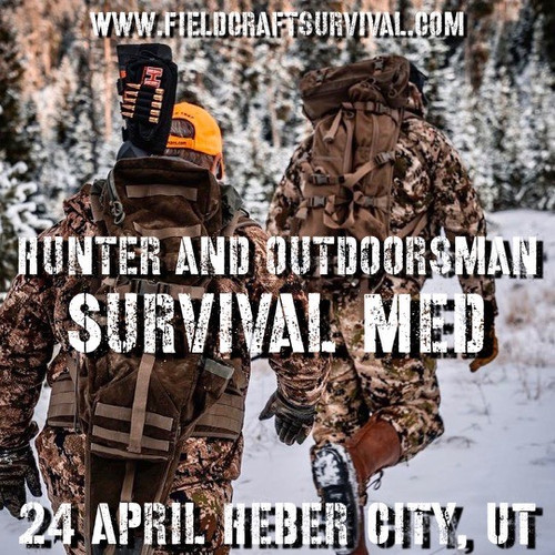 Hunter and Outdoor Survival Med: 24 April 2021 (Heber City, UT (Lab))