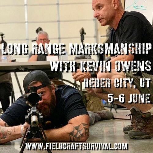 2 Day Long Range Marksmanship Course: 5-6 June 2021 (Heber City, UT (HQ))