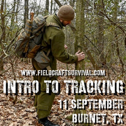 Intro to Tracking: 11 September 2021 (Burnet, TX)
