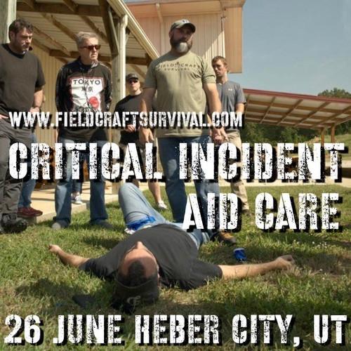 Critical Incident Aid Care: 26 June 2021 (Heber City, UT (HQ))