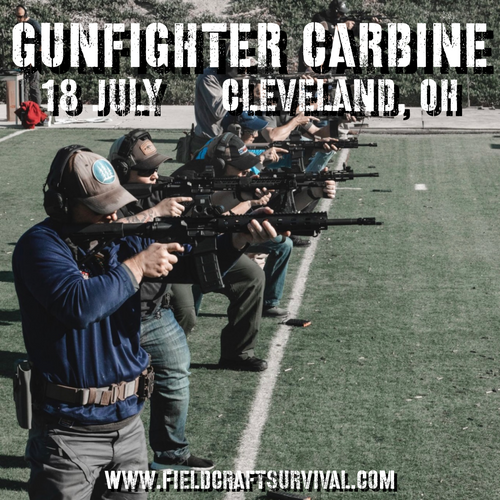 Gun Fighter Carbine Level 1: 18 July 2021 (Cleveland, OH)