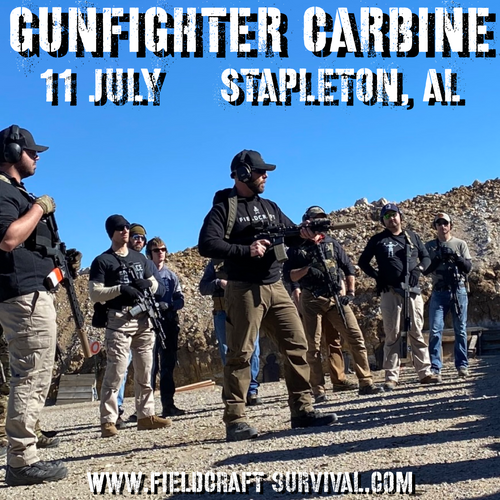 Gun Fighter Carbine Level 1: 11 July 2021 (Stapleton, AL)