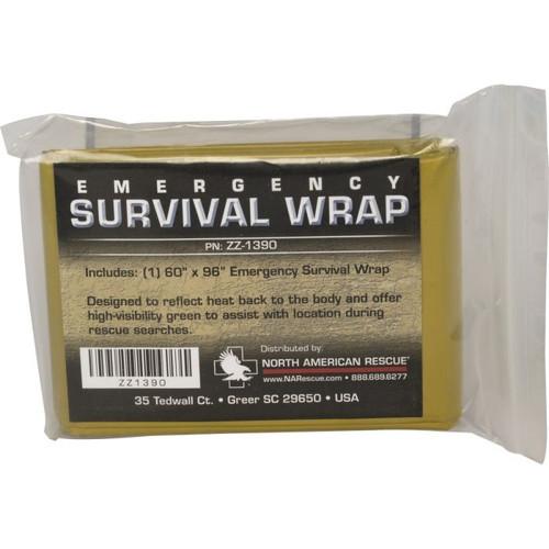 Emergency Survival Wrap (Green)