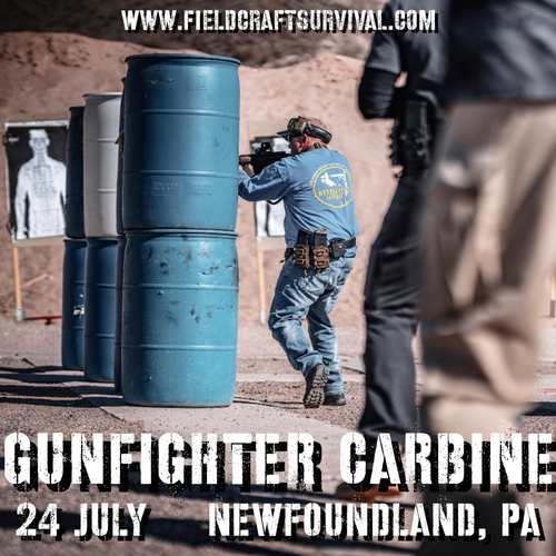 Gun Fighter Carbine Level 1: 24 July 2021 (Newfoundland, PA)